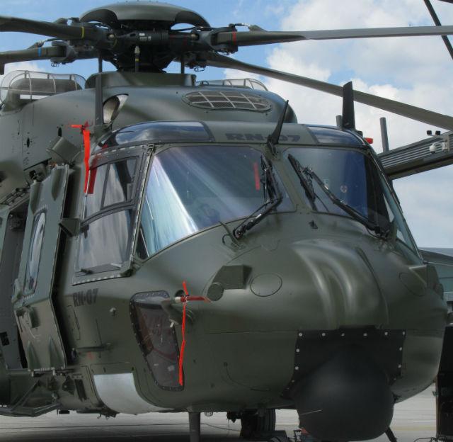 Belgian NH90 TTH