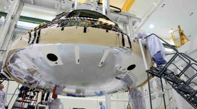 Orion heat shield