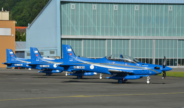 Saudi PC-21 trio - Stephan Widmer
