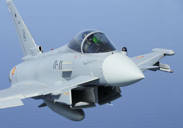 Spanish Eurofighter - Geoffrey Lee Eurofighter