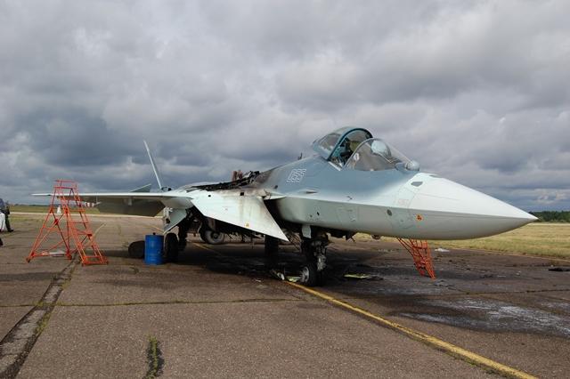 Sukhoi T-50 PAK FA fire 640