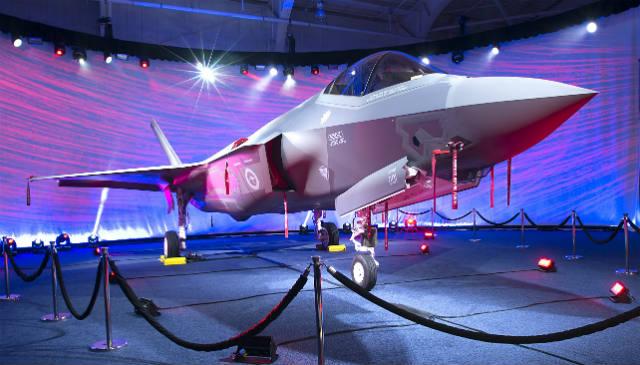 F-35A AU-1 Australia - Lockheed Martin