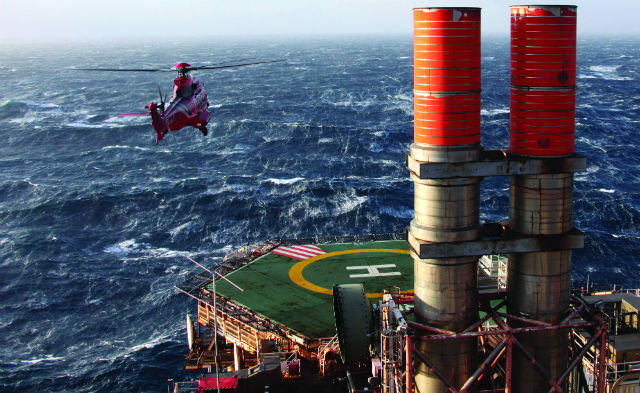North sea helicopter safety