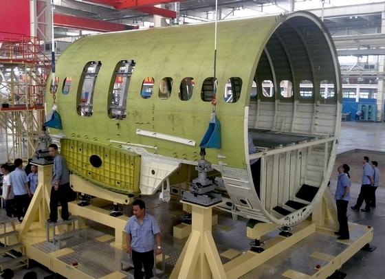 Comac C919 mid-fuselage