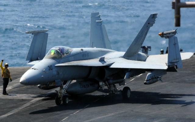 F-18 USS G Bush Gulf NAVAIR FS