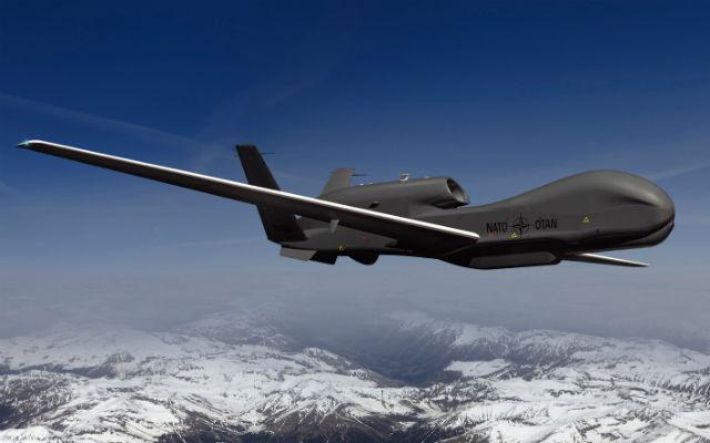NATO AGS Global Hawk mock up FS - NG