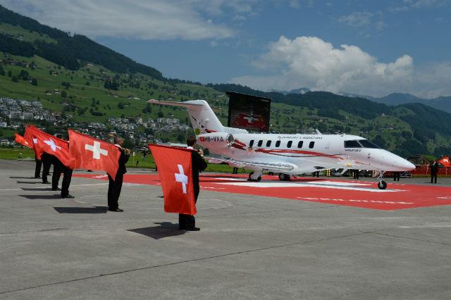Pilatus PC24 rollout2
