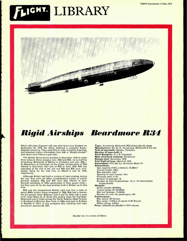 Beardmore R34