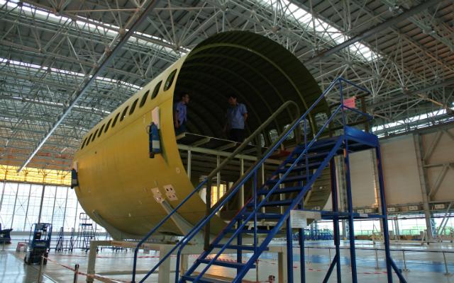 C919 forward fuselage