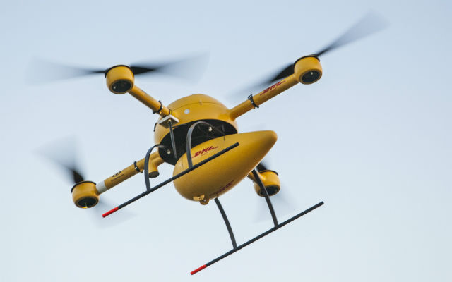 DHL Parcelcopter - Deutsche Post/DHL