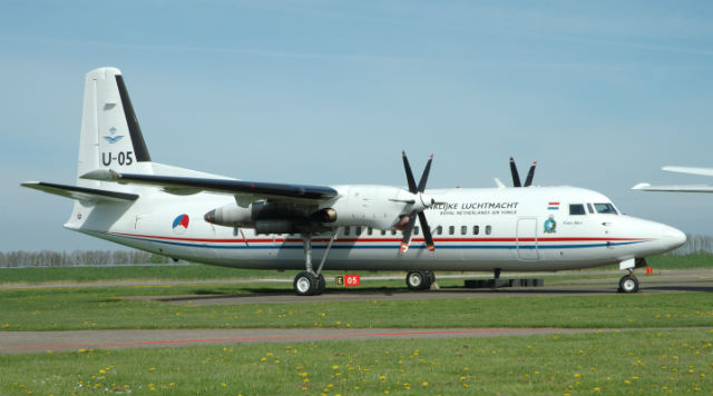 Dutch Fokker 50 - Bob Fischer