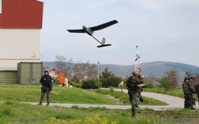 KFOR Tekever AR4 - Portuguese army