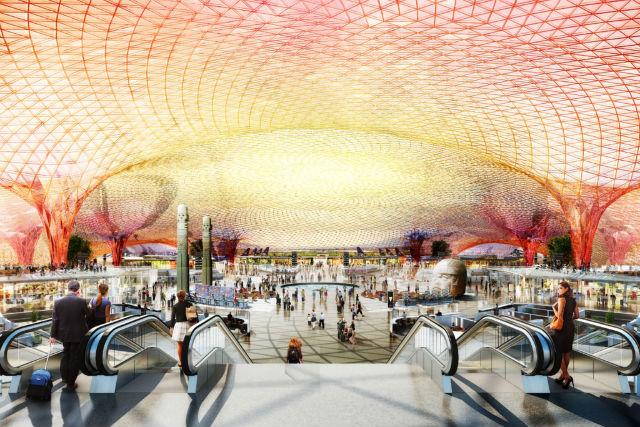 MEX terminal interior