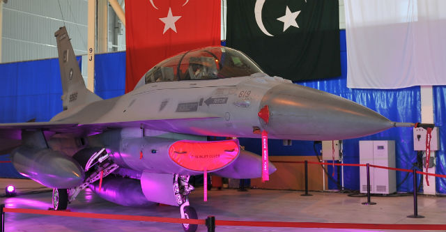 Pakistan F-16 - TAI