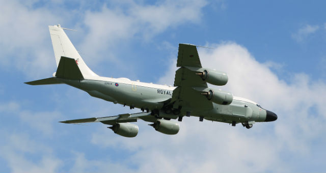 RAF Rivet Joint - Crown Copyright