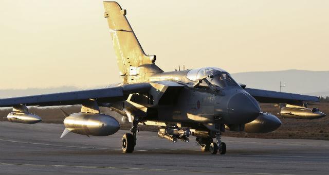RAF Tornado GR4 Akrotiri - Crown Copyright