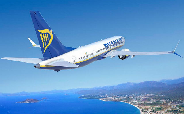 Ryanair 737 Max 200