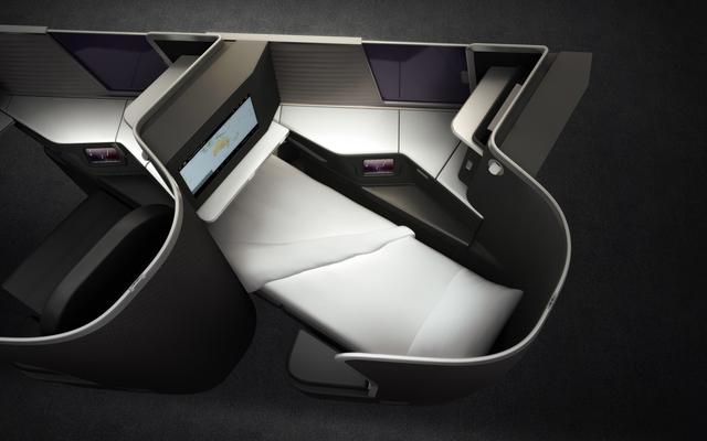 Virgin Australia new business class
