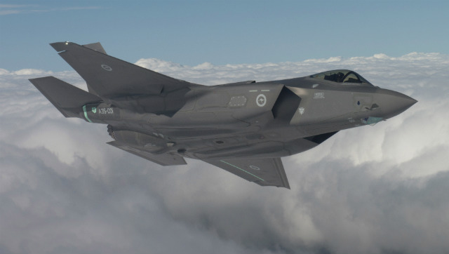 Australia F-35 flies - Lockheed Martin