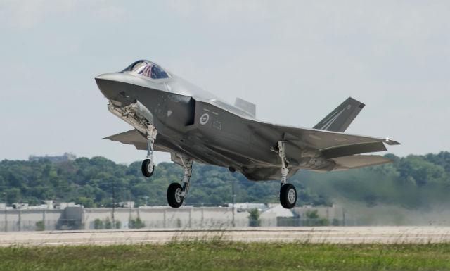 Australia F-35 take-off - Lockheed Martin