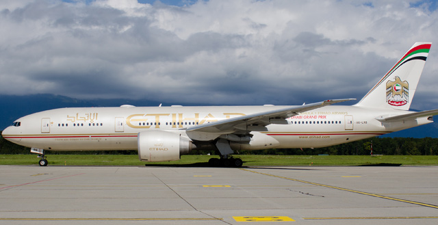 Etihad Airways 777-200LR