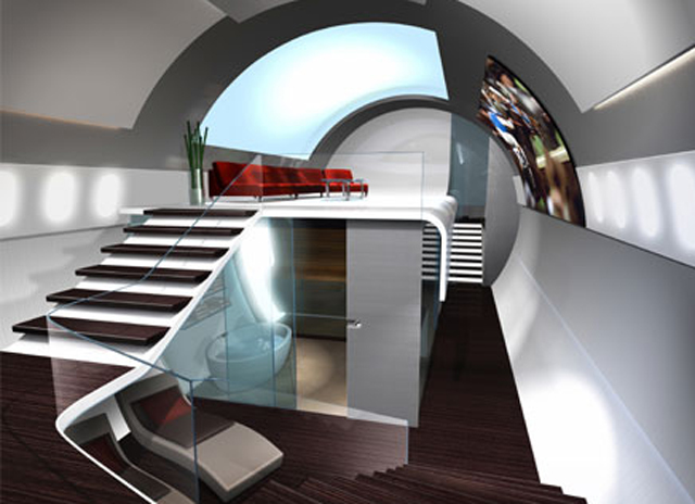 James Bond interior