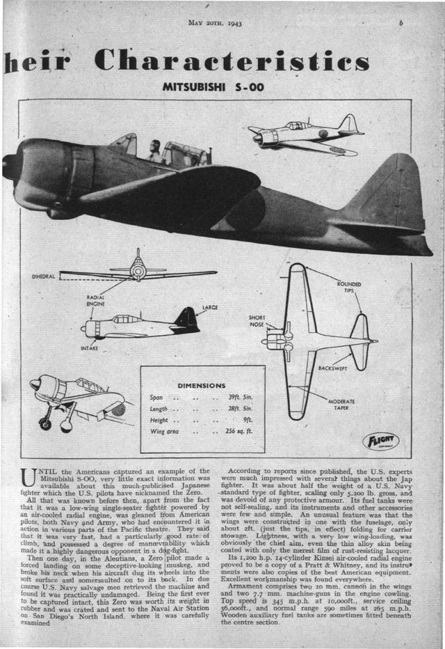 """Mitsubishi A6M """"Zero"""""""