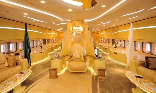 Prince Alwaleed Bin Talal's 747