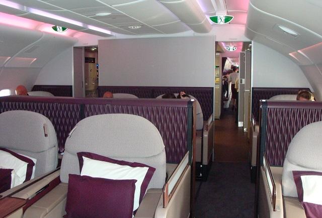 Qatar A380 1st