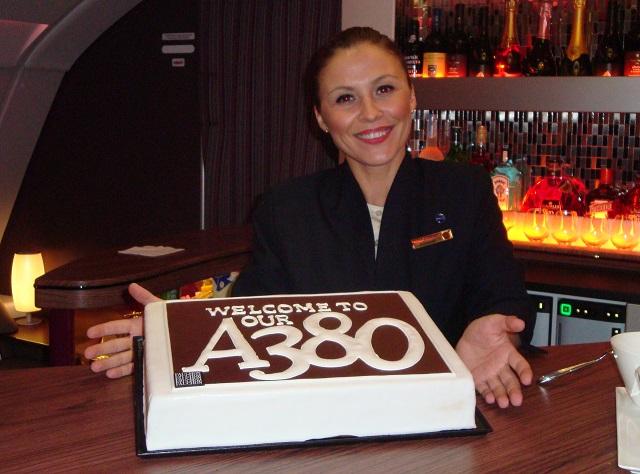Qatar A380 cake