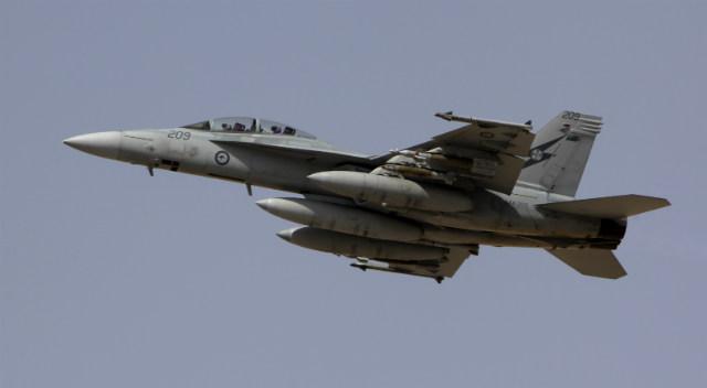RAAF Super Hornet - Commonwealth of Australia