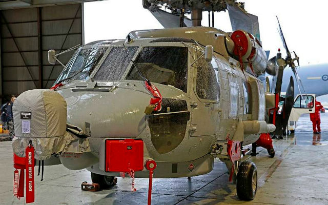 RAN MH-60R delivery Aus - Commonwealth of Aus