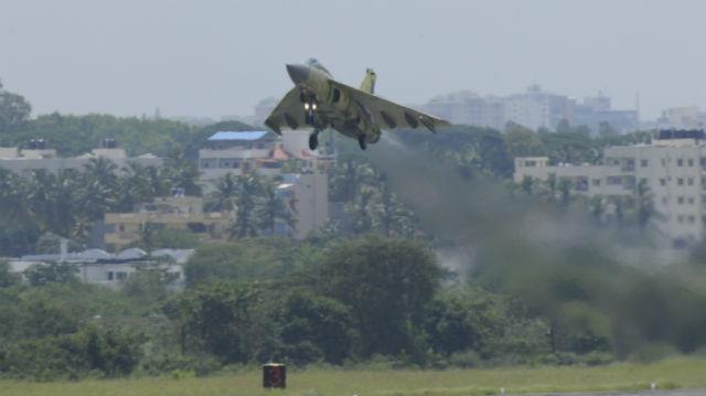Tejas Mk1 first flight - HAL