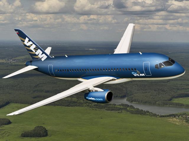 VLM Airlines Superjet