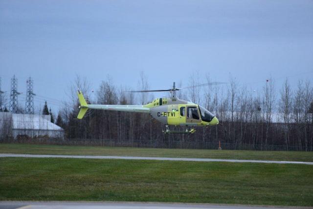 Bell 505 first flight