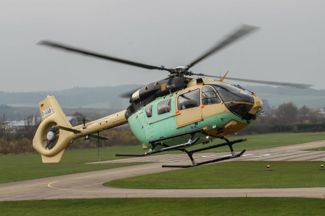 EC645 T2 first flight