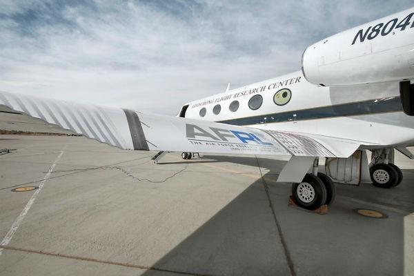 NASA Gulfstream III c NASA + Ken Ulbrich 600