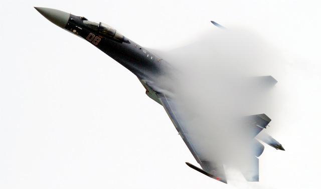 Su-35 Zhuhai 2014 - Rex Features