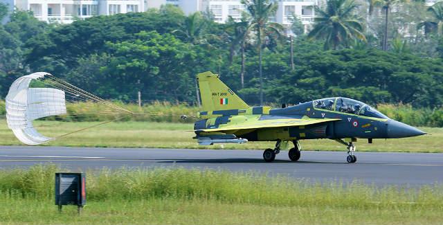 Tejas Mk1 trainer lands - ADA