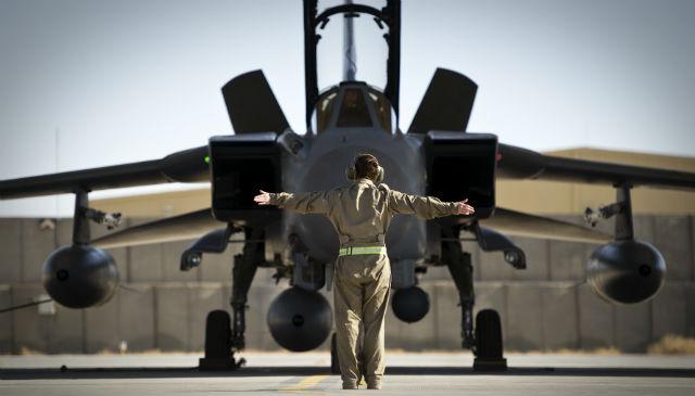 Tornado GR4 Kandahar - Crown Copyright