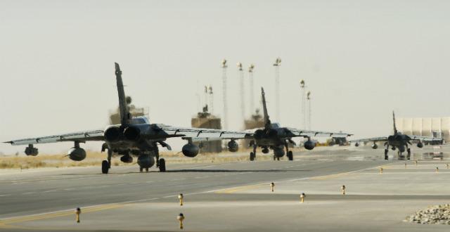 Tornado GR4 trio Kandahar - Crown Copyright