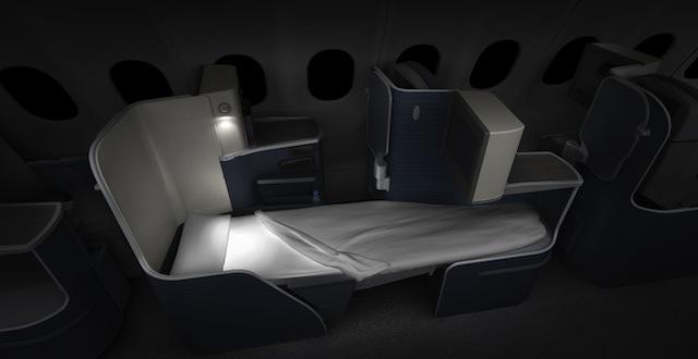 Azul A330 business class seat