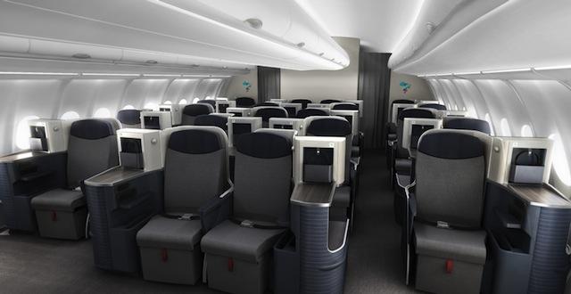 Azul A330 new business class