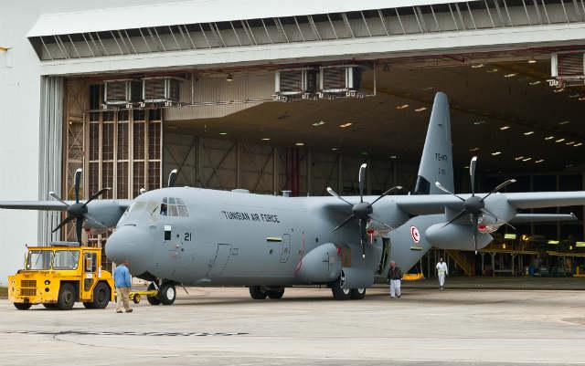 C-130J Tunisia - Lockheed Martin
