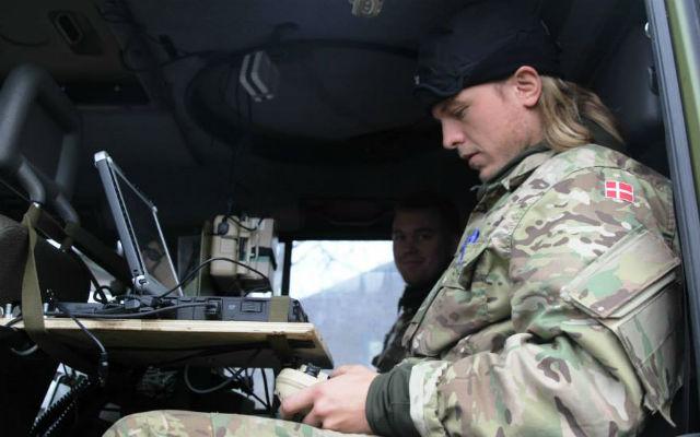 Danish army Puma UAV - Danish ministry of defence