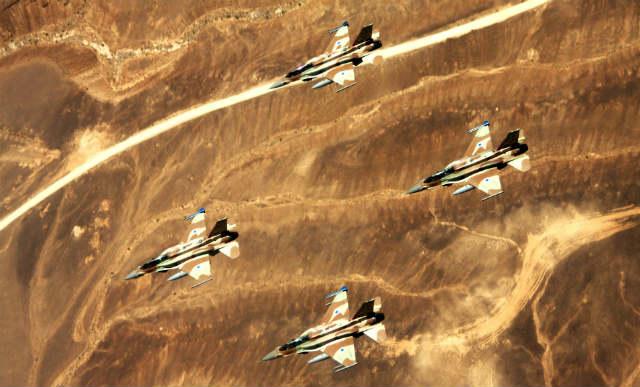 F-16Is - Israeli air force