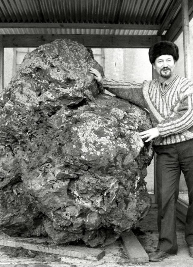 tunguska meteor fragment rex