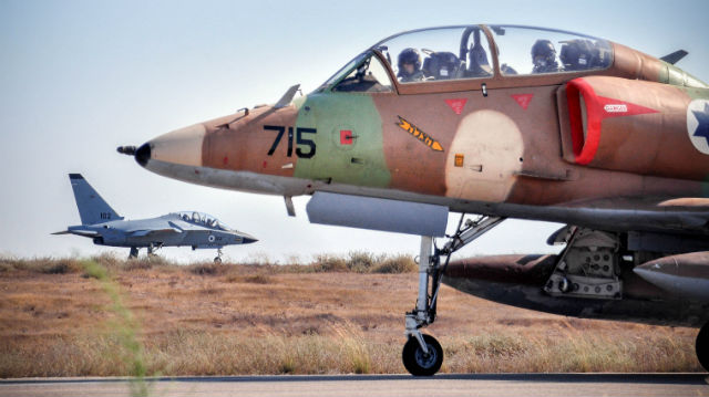 A-4 and Lavi - Israeli air force