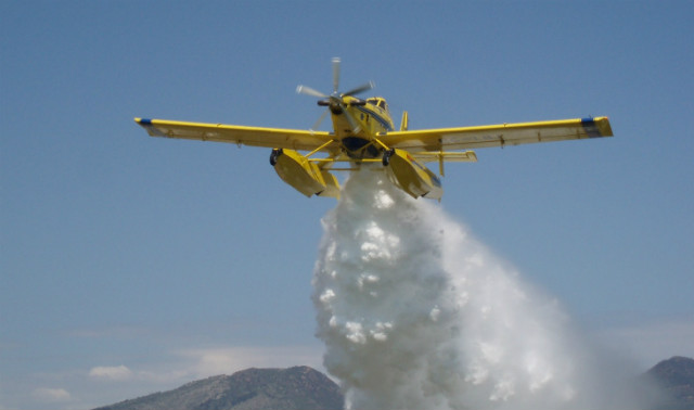 AT-802 drop - Israeli air force