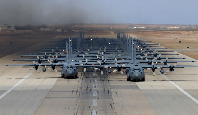 C-130s - US Air Force